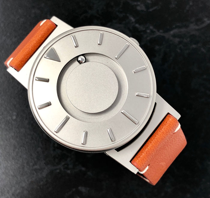 Eone - Bradley Kilimanjaro Titanium With Italian Orange Leather Strap Swiss Movement  - BR-KBT - Unisex - 2011-presente
