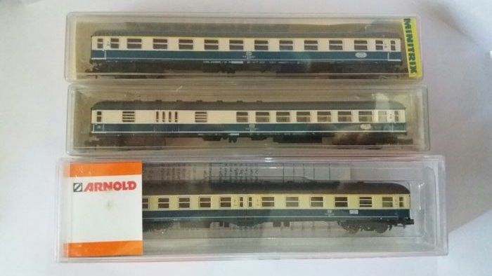 Arnold, Trix N - A3113/3131/3133 - Passenger carriage - 3 several - DB