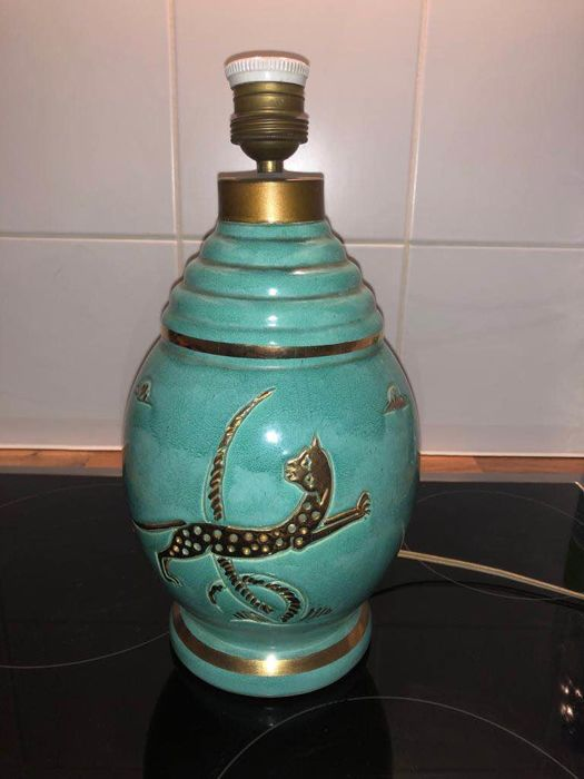 France F. Fontinelle - Lamp - Ceramic