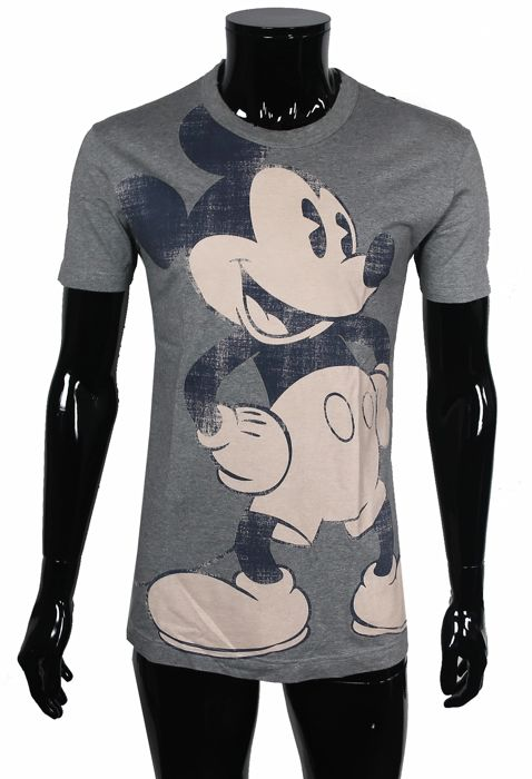 Dolce & Gabbana - Mouse Mania Gray Edition - Shirt - Size: IT50  Maat L