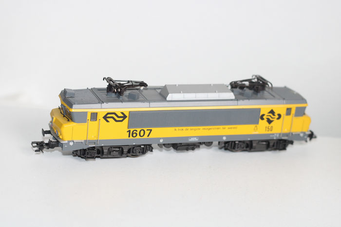 "Märklin H0 - 3326.2 - Electric locomotive - 1600 series of the NS ""I pulled the longest train"""