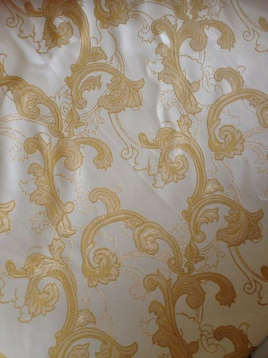 gold decorations - Louis XVI Style - cotton blend - Recently Made