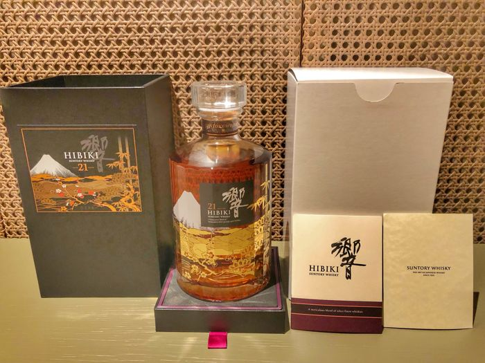 Hibiki 21 years old Mount Fuji Japan - Suntory - 0.7 Ltr