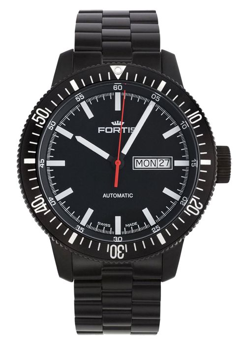 Fortis - B-42 Monolith Day/Date Automatic - 647.18.31 M - Men - 2011-present