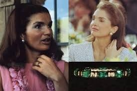 Jaqueline Kennedy, Camrose&Kross, replica of 10 years anniversery ring JFK give to Jacky  24k gold plated - Ring