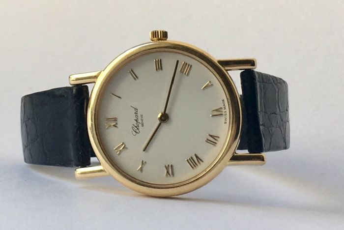 "Chopard - Classic 18k (0,750) Yellow Gold - ""NO RESERVE PRICE""  - 7387 - Unisex - 1990-1999"