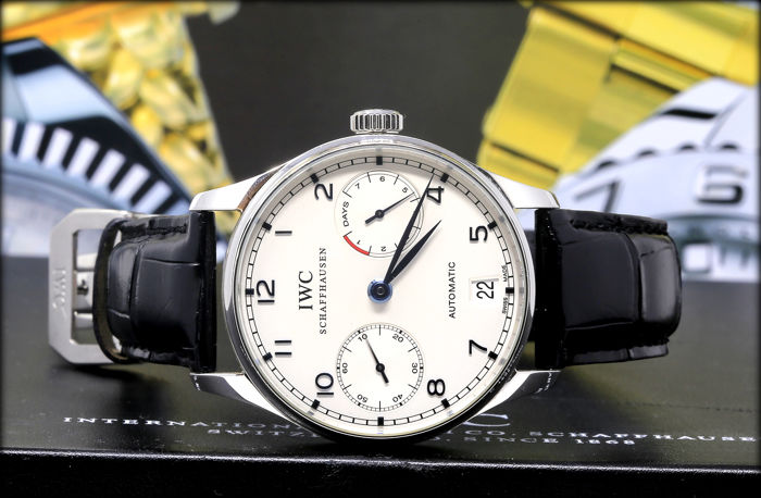 IWC - Portuguese Automatic 7 Day  Ref.IW500107 -  - Heren - 2000-2010