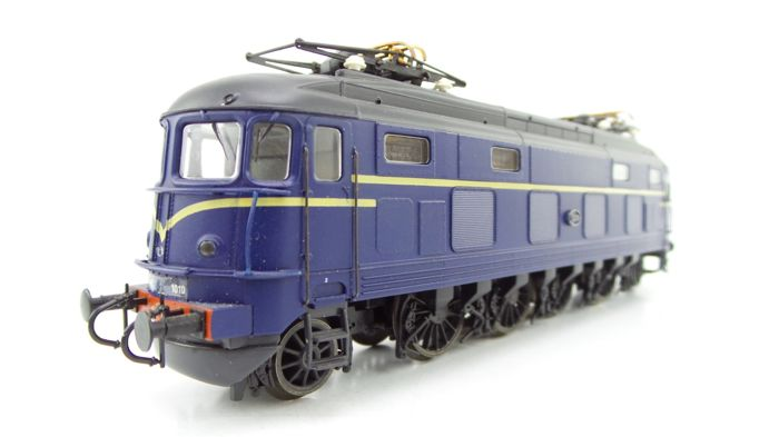 Roco H0 - 43615 - Electric locomotive - Series 1000 in blue without logo - NS