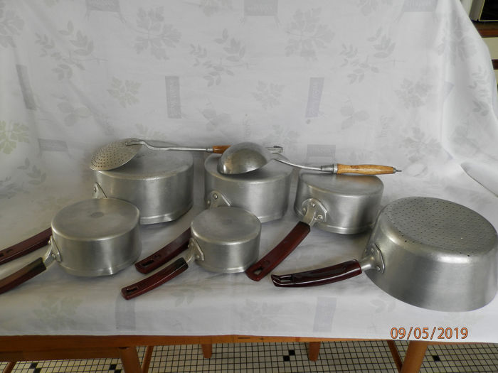 dauphinois - Pan, strainer and utensil - service pan aluminum and utensil