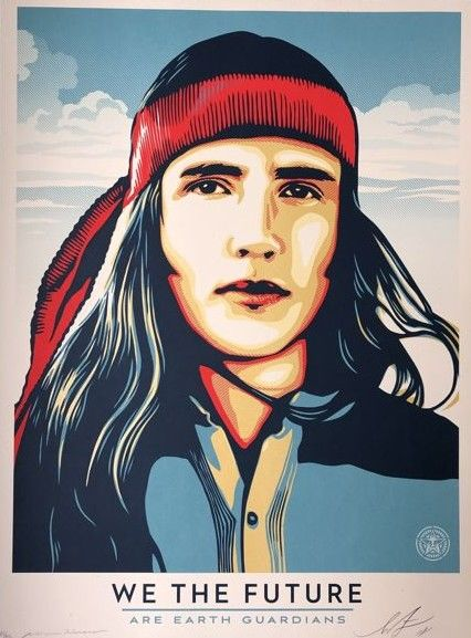 Shepard Fairey (OBEY) - We the People - Are Earth Guardians