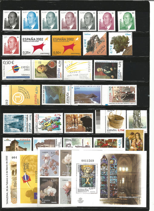 Spanje 2002 - Complete year