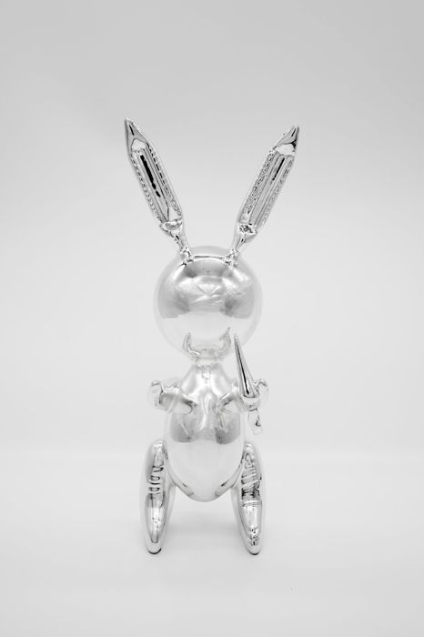 Jeff Koons (after) - Rabbit (Silver)