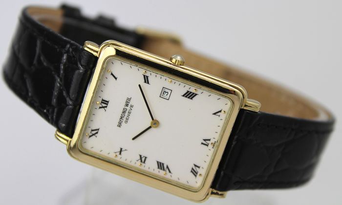 """Raymond Weil - """"NO RESERVE PRICE""""  - 9943 Gold Plated - Men - 2000-2010"""