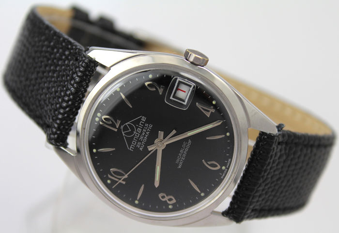 Mondaine - Swiss Made Automatic - Large 35 mm case Clean Dial - 男士 - 1960-1969