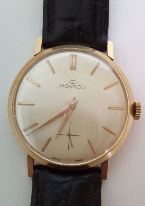 Movado - classic gold - 4015 - Heren - 1970-1979