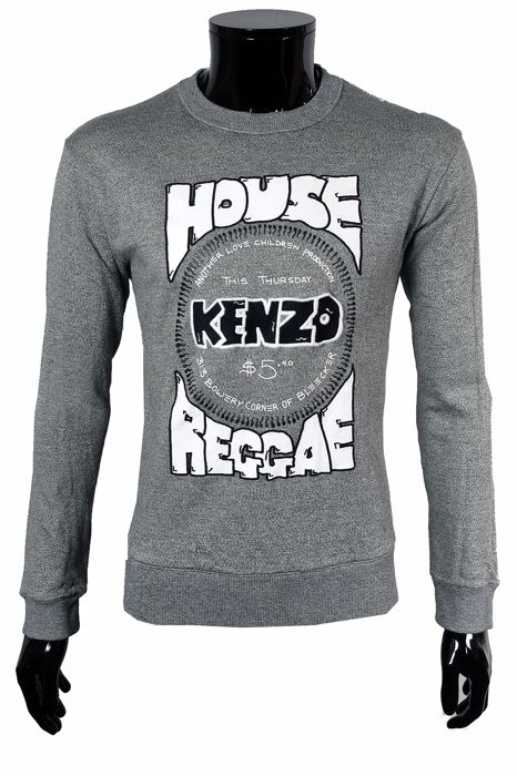 Kenzo - Emroided Sweater - Size: IT50  Maat L
