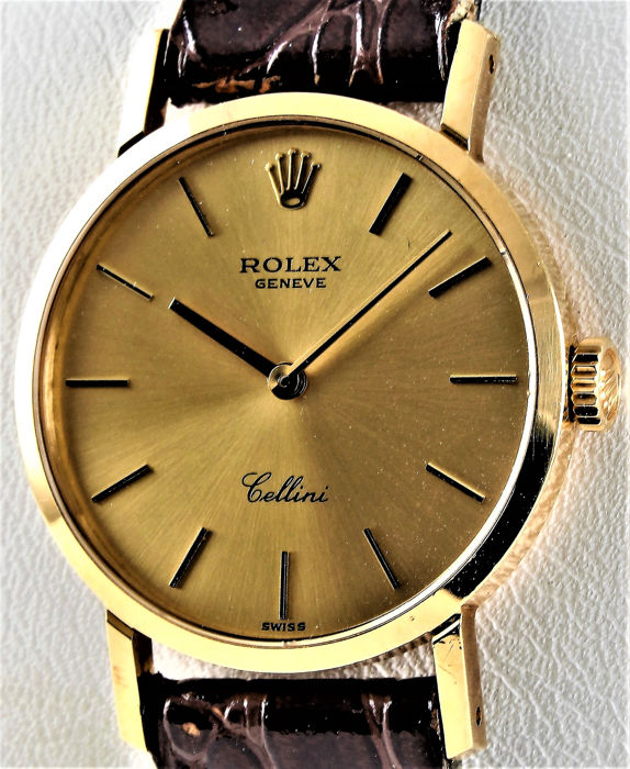 Rolex , Vintage CELLINI , 18K GOLD , Ladies , Ref. No 4109 , Perfect  Condition , Unisex , 1970,1979 , Catawiki