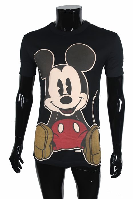 Dolce & Gabbana - Mouse Mania Black Edition - Shirt - Size: IT50  Maat L