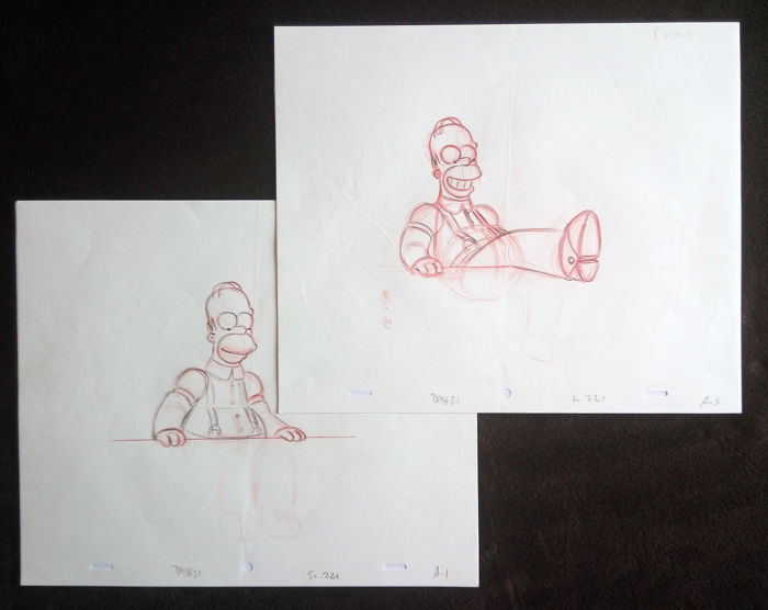 Matt Groening - The Simpsons - Homer - (2)