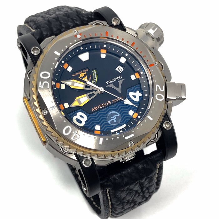 Visconti - Abyssus Pro Dive 3000M INOX Diver Watch LIMITED EDITION of 133 - W108-00-123-1408 - Bărbați - NEW