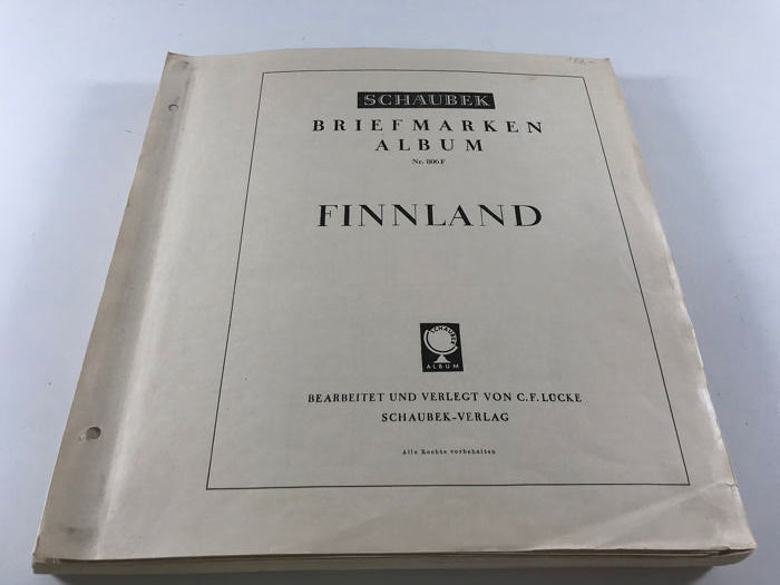 Finland 1885/1969 - Collection on old pages