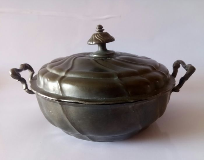 Tureen - Pewter - Late 18th century