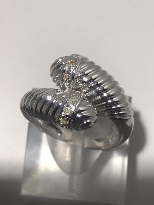 18 kt. White gold - Ring