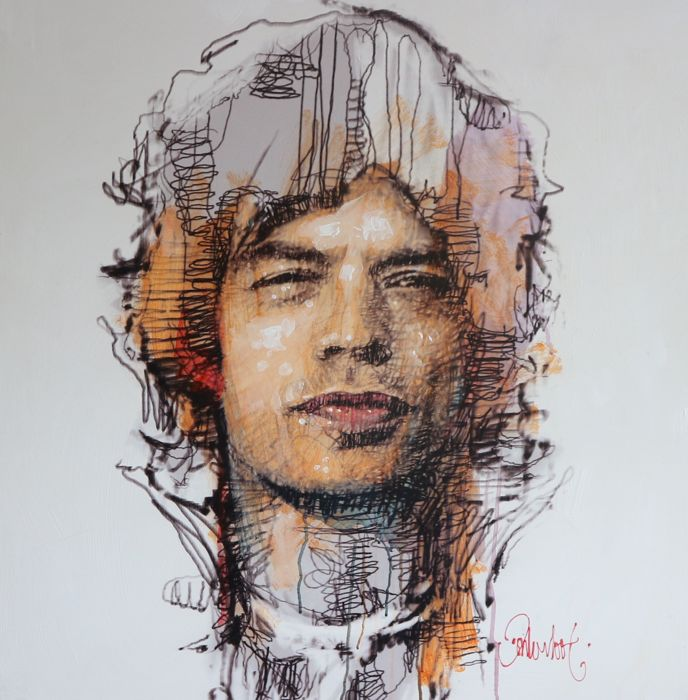 Peter Donkersloot - Mick Jagger (unica)