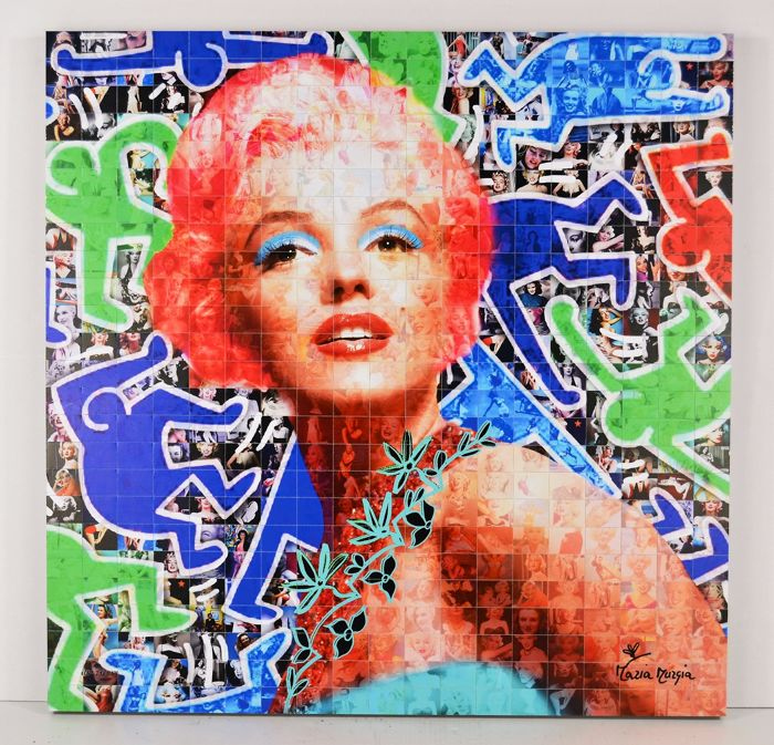 """Maria Murgia - """"Marilyn nell'atelier Keith Haring"""""""