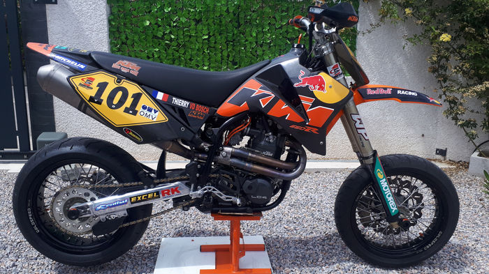 KTM - 660 SMS Factory Replica - 660  cc - 2004
