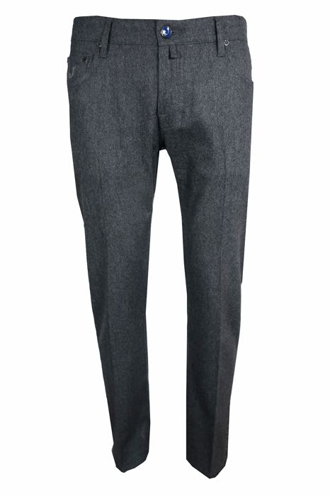 Jacob Cohen - Smooth Fit Wool trousers - Size: W34 maat L