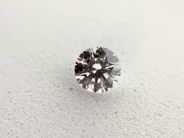 1 pcs Diamante - 0.36 ct - Brillante - F - SI2