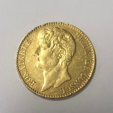 France - 40 Francs An XI-A Bonaparte Premier Consul - Gold