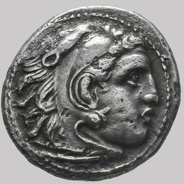 Macedonia (ancient) - Kingdom of Macedonia. AR Drachm, Alexander III (336-323 BC). Magnesia ad Maeandrum, ca. 323-319 BC. - Silver