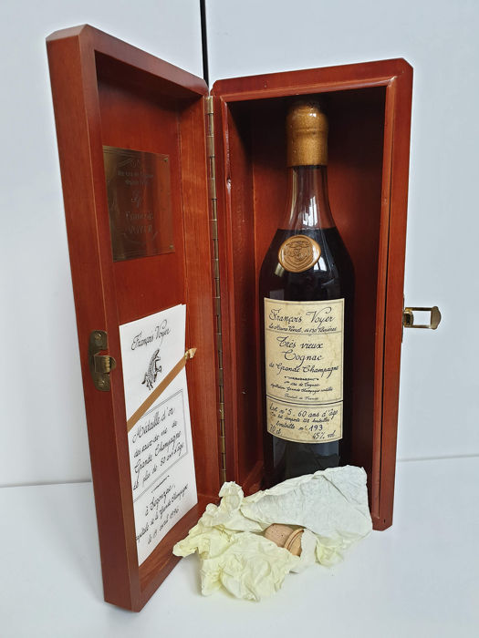 Francois Voyer 60 years old - Lot n° 5 - b. 1990s - 70cl