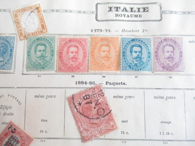 Italië en Griekenland - Significant collection of stamps