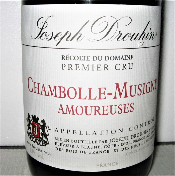 2004 Chambolle-Musigny 1° Cru Amoureuses - Domaine Joseph Drouhin - Bourgogne - 1 Bouteille (0,75 l)
