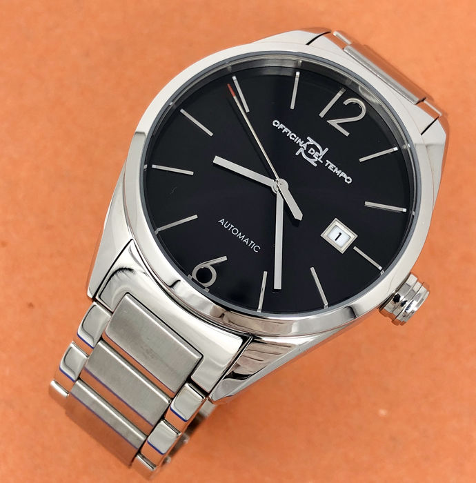 "Officina del Tempo - Wall Street Automatic Stainless Steel  ""NO RESERVE PRICE"" - OT1037-4102N - Heren - BRAND NEW"