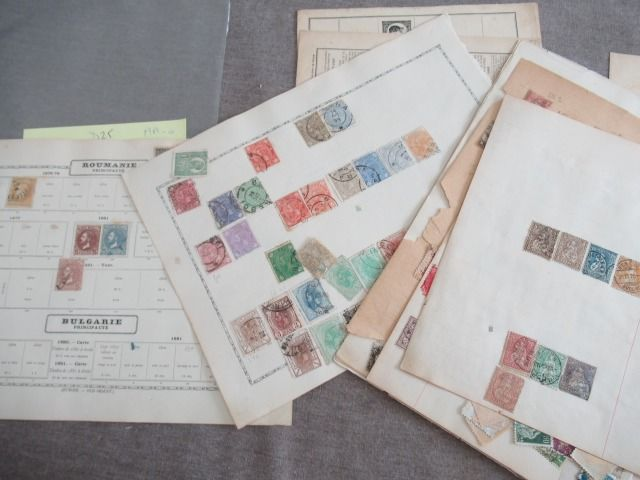 Roemenië en Zwitserland - Collection of classic stamps