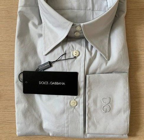 Dolce & Gabbana - Never Used - NO RESERVE PRICE  - Shirt - Size: 44- Size ( XL )