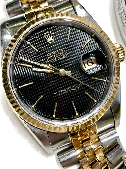 Rolex -  Oyster Perpetual Datejust - 16233 - Unisex - 1990-1999