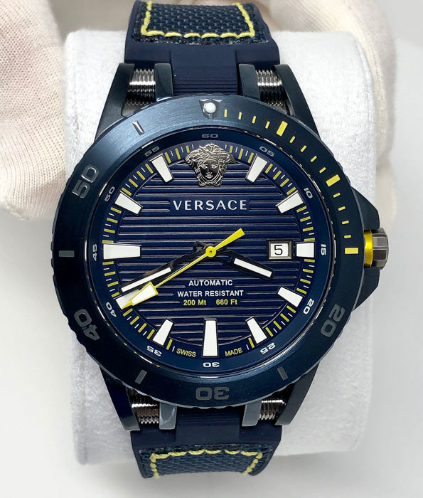 Versace - Sport Tech Automatic Diver Watch Limited Edition Blue 62/250 - VERC00218 - Men - BRAND NEW