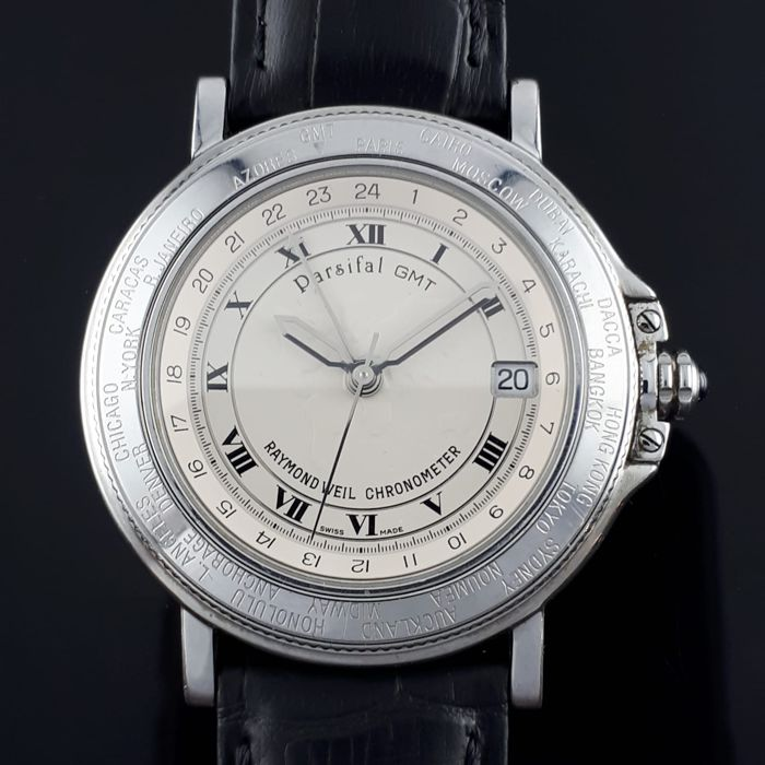 """Raymond Weil - Parsifal GMT """"NO RESERVE PRICE"""" - Homme - 2011-aujourd'hui"""