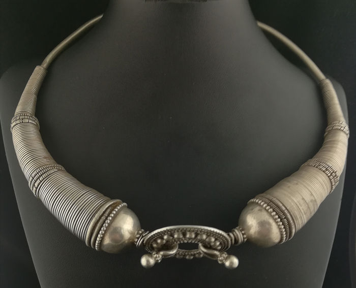 Necklace (1) - Silver +800 - Rajasthan, India