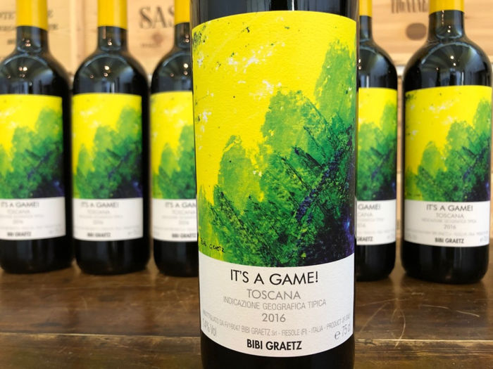 "2016 Bibi Graetz ""It's a Game"" Rosso - Super Tuscans - 6 Bottles (0.75L)"
