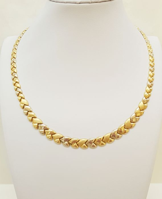 18 kt. Yellow gold - Beautiful Italian Collier as new