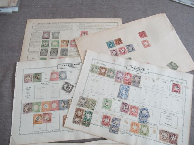 Duitsland en oude staten - Collection of stamps