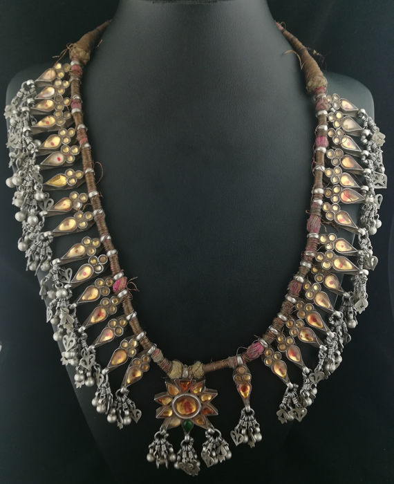 Necklace (1) - Silver - North India