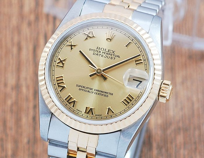 Rolex - Oyster Perpetual DateJust - 68273 - Unisexe - 1980-1989