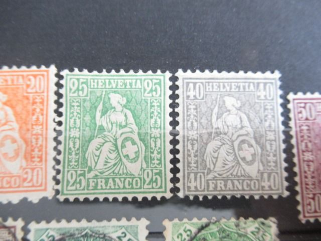 Europa - Stamp collection including Switzerland, Russia and Eastern countries